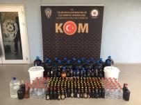 Lüleburgaz'da 1 Yılda 2.2 Ton Kaçak İçki Ele Geçirildi
