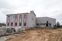 AFET KOORDINASYON MERKEZI - Malatya İtfaiye Merkezinin Yüzde 70'İ Tamamlandı