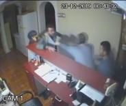 ERMENEK - Otel İşletmecisi İle Eşi Darp Edildi, Olay Kameraya Yansıdı