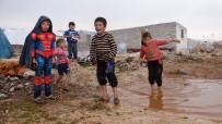 İÇ SAVAŞ - (Özel) Suriye'de İç Savaşın Kaybedeni Çocukların Kamplardaki Yaşam Mücadelesi