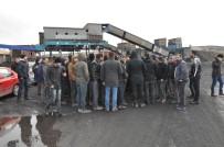 Sorgun'da İşten Çıkartılan 135 Maden İşçisi Eylem Yaptı