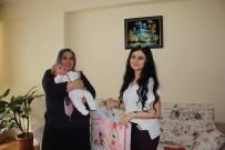 Sungurlu'da 804 Bebeğe 'Hoşgeldin' Dediler