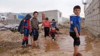 İÇ SAVAŞ - Suriye'de İç Savaşın Kaybedeni Çocukların Kamplardaki Yaşam Mücadelesi