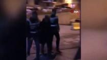 YEŞILCE - Yeni Yılın İlk Günü Eski Eşini Tehdit Ederek Evini Yakalan Şahıs Yakalandı