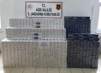Ağrı'da 26 Bin 400 Paket Kaçak Sigara Ele Geçirildi