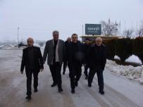 AK Parti İlçe Teşkilatından Yeni Açılan Fabrikayı Ziyaret
