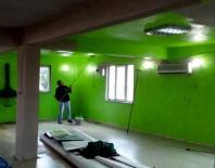 Altıeylül'de Kapalı Pazaryeri İnşaatı Devam Ediyor