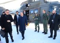 DEVLET BAŞKANI - Bakan Çavuşoğlu Ve Bakan Pekcan Davos'a Geldi