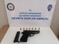 Balıkesir'de 5 Silah Ele Geçirildi
