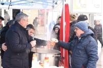 Çorum Belediyesi'nden Sıcak Çorba İkramı