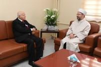BAŞSAĞLIĞI - Diyanet İşleri Başkanı Erbaş'dan Cem Vakfı Genel Başkanı Doğan'a Taziye Ziyareti