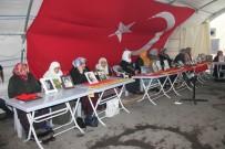 HDP Önündeki Ailelerin Evlat Nöbeti 140. Gününde