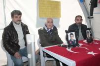 HDP Önündeki Ailelerin Evlat Nöbeti 140'Incı Gününde