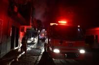 SUBAŞı - İki Katlı Apartmanda Yangın