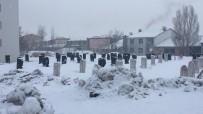 Karlıova'da Kar Hasreti Bitti, İlçe Beyaza Büründü