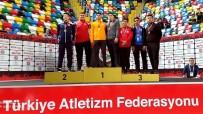 MASAJ - Uşaklı Sporculardan Gülle Atmada Çifte Başarı