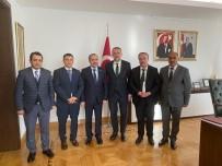 MEHMET EMİN BİRPINAR - Van Heyeti, Çevre Ve Şehircilik Bakanlığını Birim Birim Gezdi