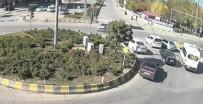 EMNIYET GENEL MÜDÜRLÜĞÜ - Van Ve Muş'ta Meydana Gelen Trafik Kazaları Mobese Kameralarına Takıldı