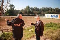 TATBIKAT - AK Partili Savaş, AFAD İl Müdürü Harman'ı Ziyaret Etti