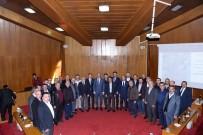 Başkan Altay, Oda Başkanlarıyla Metro Ve Banliyö Hattını İstişare Etti