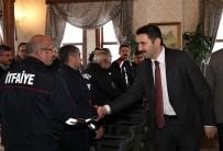 ŞAHIT - Başkan Eroğlu'ndan İtfaiyecilere Teşekkür Ziyareti