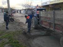 Burhaniye'de Sanayi Sitesi Temizlendi