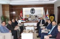 KURU KAYISI - Diyarbakır Ticaret Borsası'ndan MTB'ye Ziyaret