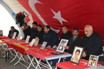 HDP Önündeki Ailelerin Evlat Nöbeti 141'İnci Gününde