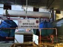 Jandarma BOTAŞ Petrol Boru Hattından Ham Petrol Çalın Şahısları Suçüstü Yakaladı
