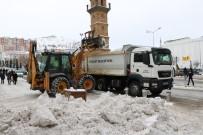 YOZGAT - Kar Temizleme Çalışması Başladı