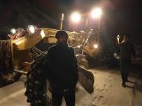 Karda Mahsur Kalan Sürücü 8 Saat Sonra Kurtarıldı