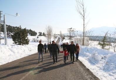 Mersin'de Bir İlk Açıklaması Toroslar'ın Zirvesinde Kar Festivali
