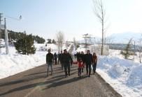 ANİMASYON - Mersin'de Bir İlk Açıklaması Toroslar'ın Zirvesinde Kar Festivali