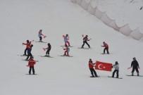 SPOR MERKEZİ - Murat Dağı'nda Hem Kayak Hem Hamam Keyfi