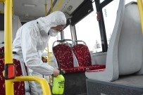 Otobüslerde Antibakteriyel Temizlik