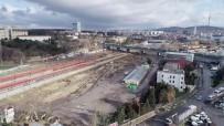 (Özel) Rayların Altından Çıkan Tarihi Dev Liman Şehri Havadan Görüntülendi