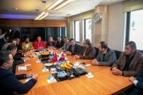 ESNAF ODASı BAŞKANı - Rus İş Adamlarından Ahmet Aras'a Ziyaret