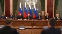 KÜLTÜR BAKANı - Rusya'nın Yeni Başbakanı Mişustin, Putin'e Yeni Kabineyi Tanıttı