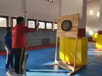 BEDENSEL ENGELLİ - Sincan'da 'Umudun Kanatları'Na Dart Eğitimi