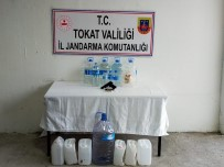 Tokat'ta Üretilen Sahte İçki Piyasaya Sürülemeden Yakalandı