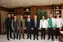 MUSTAFA ÜNAL - Türkiye Triatlon Federasyonu İle AÜ Arasında Örnek İşbirliği