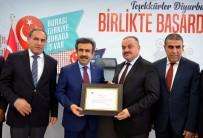 ŞANLIURFA - Vali Güzeloğlu'ndan Dicle Elektrik'e Teşekkür Belgesi