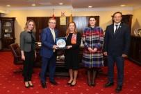 ARAŞTIRMA MERKEZİ - Arnavutluk İstanbul Başkonsolosu'ndan Trakya Üniversitesine Ziyaret