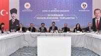 Bakan Kurum Diyarbakır'da 'Değerlendirme Toplantısı'na Katıldı
