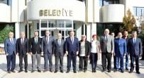 ÜLKÜ OCAKLARı - Başkan Kayda, MHP Grup Başkanvekili Akçay'ı Ağırladı