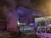 GÜLHANE - Başkent'te 2 Katlı Evde Yangın Açıklaması 4 Yaralı