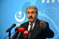 SİYASİ PARTİLER - BBP Genel Başkanı Destici Açıklaması 'Tezkere Çok Yerinde Olmuştur'