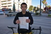 KIRMIZI IŞIK - Bisikletiyle Kırmızı Işıkta Geçti, 420 TL Ceza Yedi
