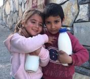 Bodrumlu Çocuklar 'Halk Süt' İçiyor