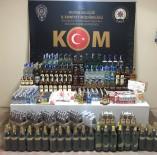 Bursa'da Kaçak İçki Ve Sigara Operasyonu